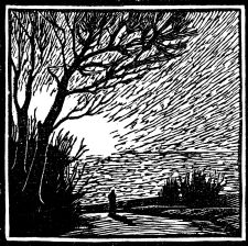 wood-engraving of a Spring Morning
